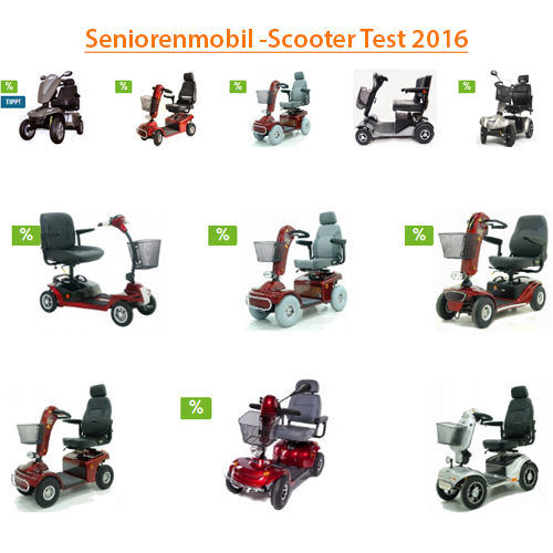 Senioren-Elektromobil-Scooter-Test