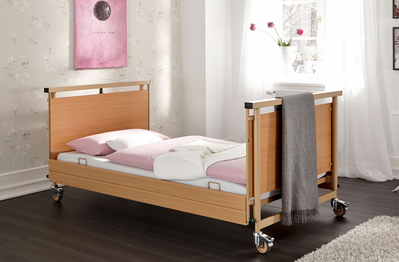 pflegebett allura pflegebetten burmeier. Black Bedroom Furniture Sets. Home Design Ideas